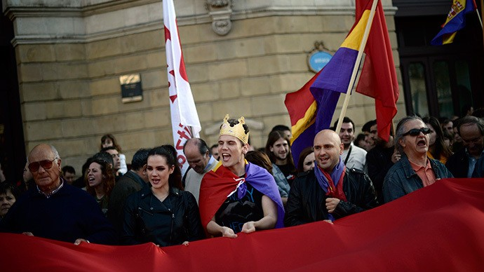 Anti-monarchy protests in Spain  - ảnh 1