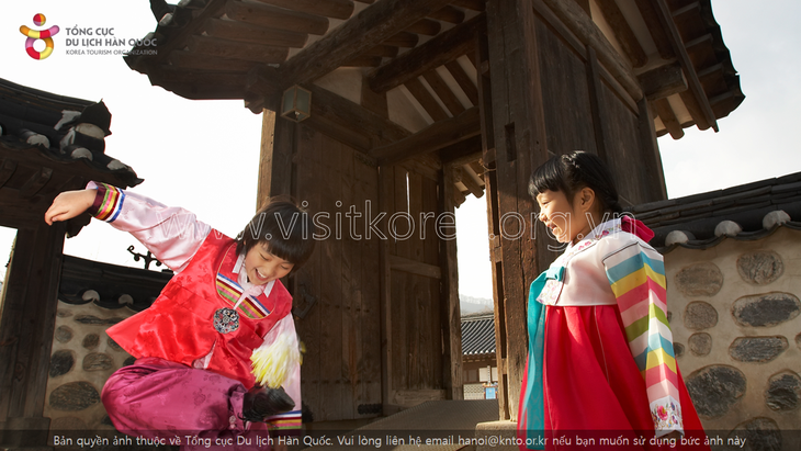 Hanbok, the traditional costume of Koreans - ảnh 6