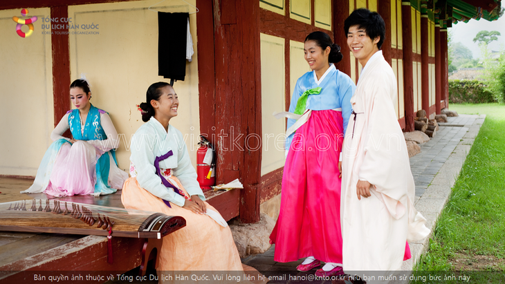 Hanbok, the traditional costume of Koreans - ảnh 7