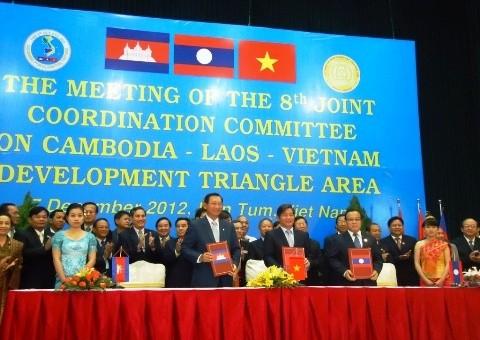 Vietnam, Laos y Cambodia recuerdan medidas para el Triángulo de Desarrollo - ảnh 1