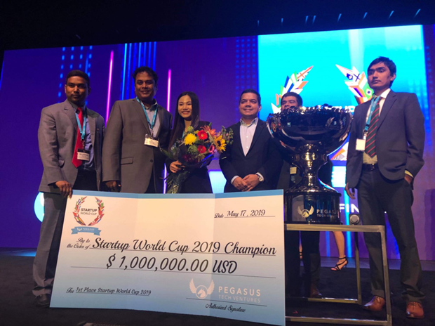 Empresa vietnamita gana competencia internacional de compañías emergentes en Estados Unidos - ảnh 1