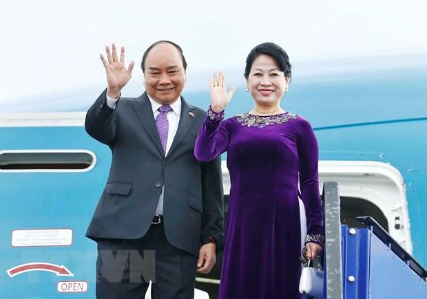 Concluye primer ministro vietnamita gira por Rusia, Noruega y Suecia - ảnh 1