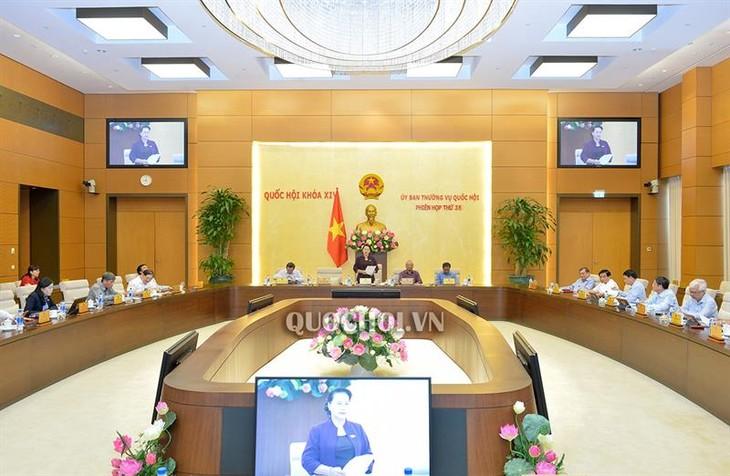 Concluye 35 sesión del Comité Permanente del Parlamento de Vietnam - ảnh 1