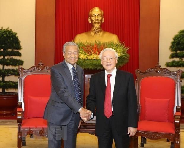 Máximo dirigente vietnamita afirma priorizar asociación estratégica con Malasia - ảnh 1