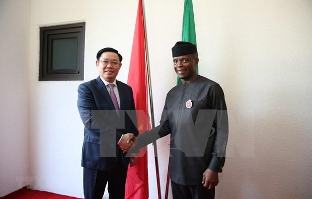 Promueven la cooperación multifacética entre Vietnam y Nigeria - ảnh 1