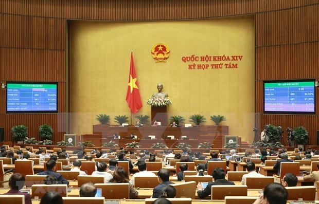 Parlamento de Vietnam aprueba modificaciones de Ley de Construcción - ảnh 1