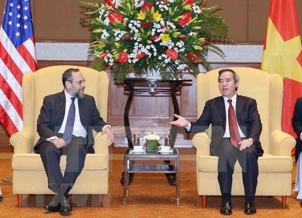 Vietnam espera consolidar la asociación integral con Estados Unidos - ảnh 1