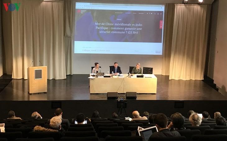 Efectúan en París un seminario sobre seguridad del Mar Oriental - ảnh 1