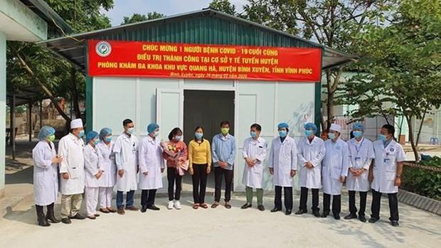 Todos los pacientes del Covid-19 en Vietnam están curados - ảnh 1