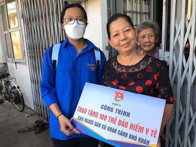 Cerca de 200 mil personas participan en actividades voluntarias para la seguridad social en Ciudad Ho Chi Minh - ảnh 1