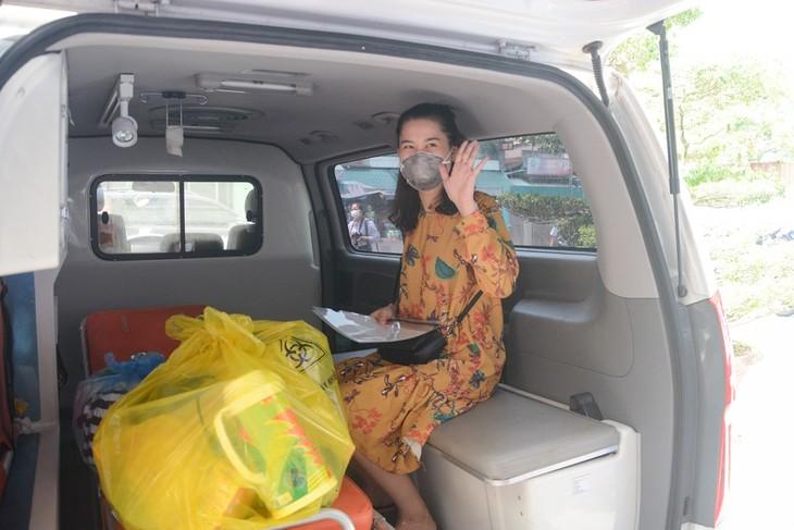 Otros tres pacientes en Vietnam recuperados del Covid-19 - ảnh 1