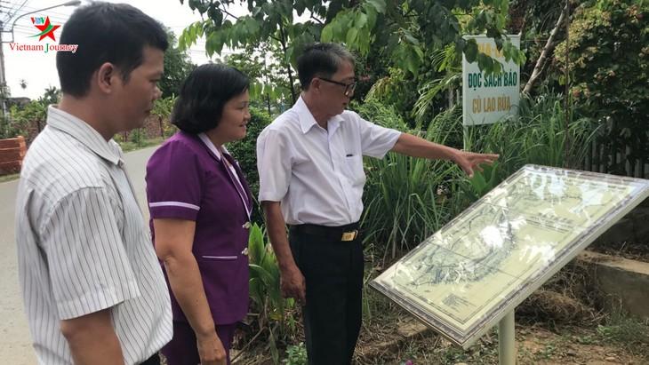 """Visitar la """"vía de mapas"""" en Binh Duong - ảnh 1"""