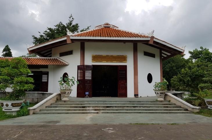 Zona de reliquias en homenaje al padre del presidente Ho Chi Minh en Dong Thap - ảnh 1