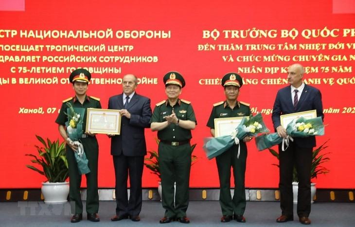Destacan aportes del Centro de Estudios Tropicales Vietnam-Rusia - ảnh 1