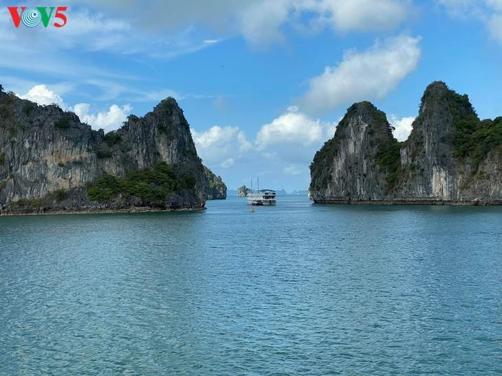Bahía de Ha Long, entre las 50 maravillas naturales más hermosas del mundo - ảnh 2