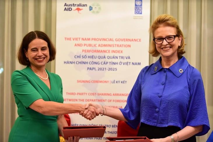 Australia ayuda a mejorar administración pública de Vietnam - ảnh 1