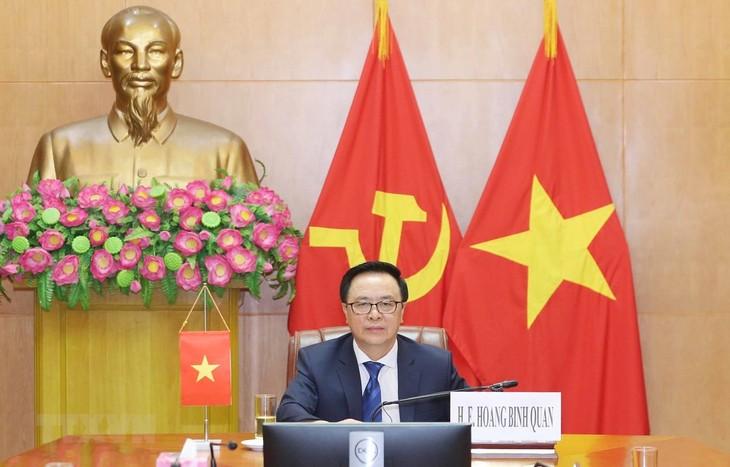 Vietnam asiste a videoconferencia internacional sobre seguridad y cooperación en medio del covid-19 - ảnh 1