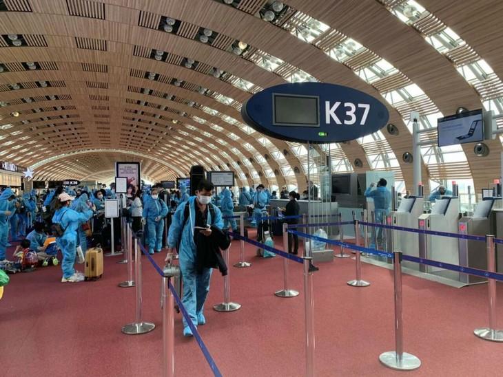 Repatriación de ciudadanos vietnamitas desde Francia, Marruecos y Chile - ảnh 1
