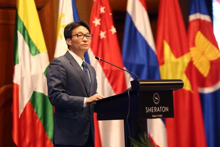 Inauguración de Conferencia de alto nivel de la Asean sobre el desarrollo de recursos humanos - ảnh 1