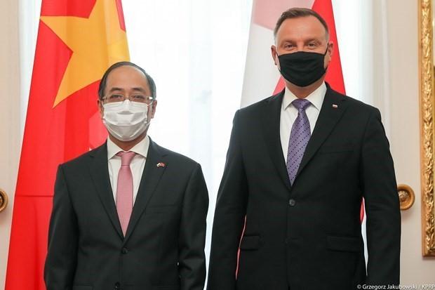 Polonia desea promover la cooperación multifacética con Vietnam - ảnh 1