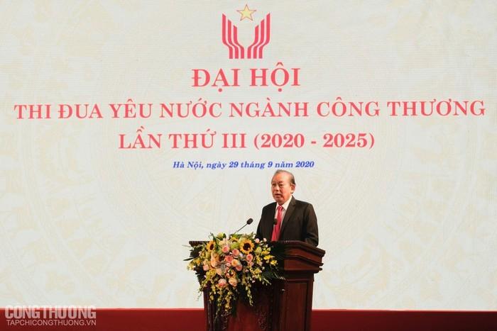 Celebración del tercer Congreso de Emulación Patriótica del Ministerio de Industria y Comercio de Vietnam - ảnh 1
