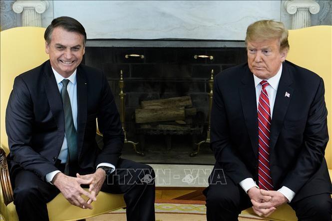 Estados Unidos y Brasil estrechan sus lazos con la firma de nuevos acuerdos de inversión - ảnh 1