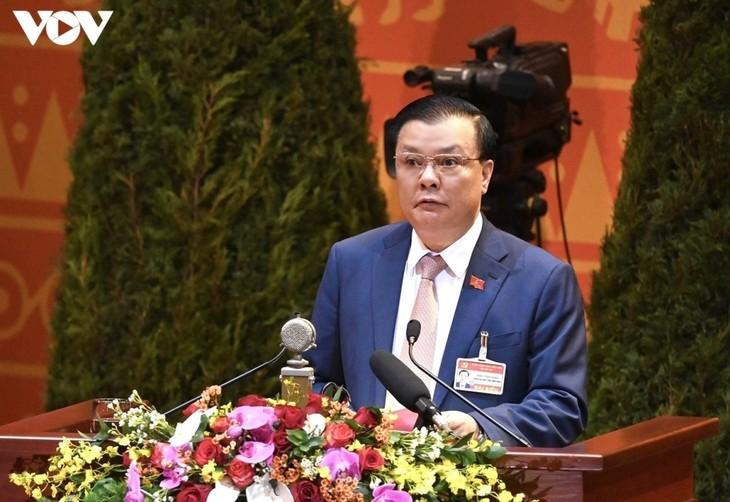 Delegados vietnamitas debaten las metas de desarrollo a corto plazo - ảnh 1