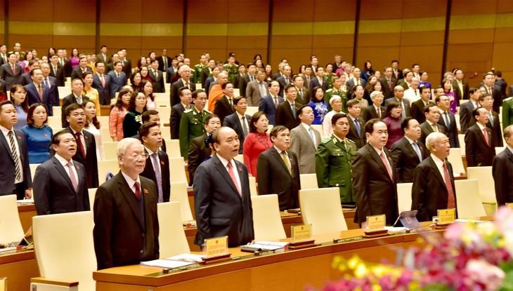 Finaliza la elección de los altos cargos del Estado de Vietnam - ảnh 2