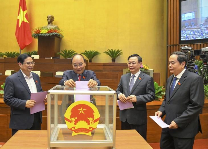 Asamblea Nacional releva a la subjefa del Estado y otros altos cargos - ảnh 1