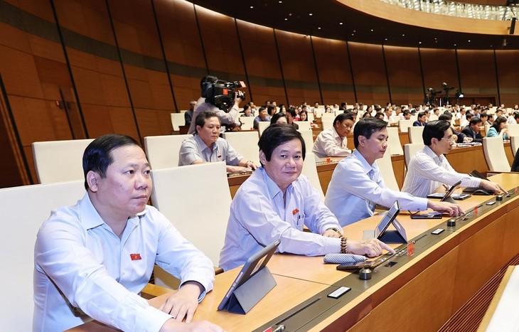 Parlamento vietnamita aprueba el relevo de vicepremier y ministros - ảnh 1