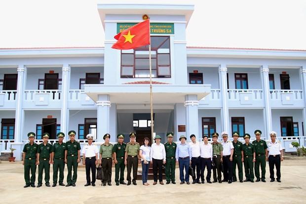 Inspeccionan preparativos para elecciones parlamentarias en distrito insular vietnamita de Truong Sa - ảnh 1