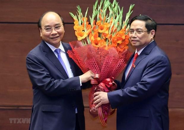 Más felicitaciones a los nuevos dirigentes de Vietnam - ảnh 1