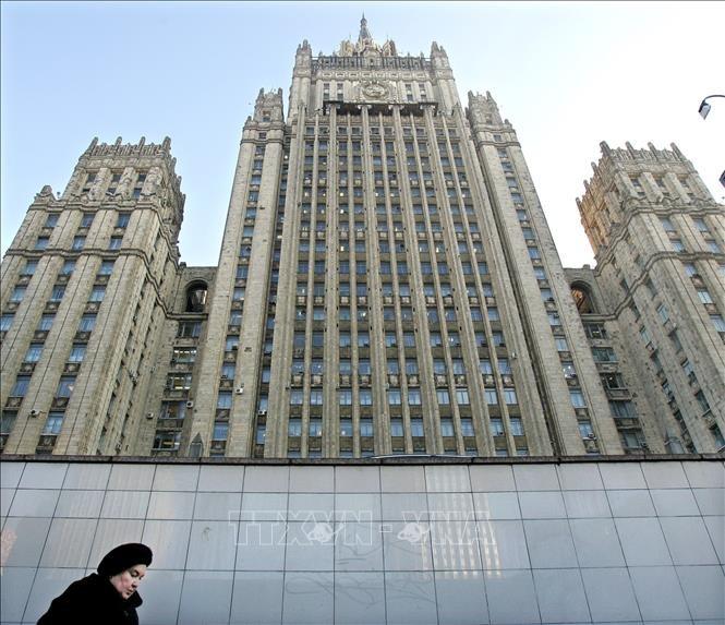 Rusia expulsa a diplomáticos de cuatro países europeos por su solidaridad con la República Checa - ảnh 1