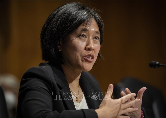 Estados Unidos evalúa la eficacia del acuerdo comercial con China - ảnh 1