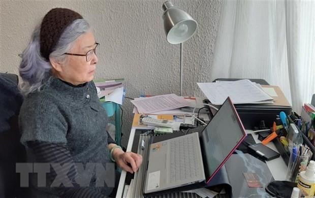 Asociación de Víctimas del Agente Naranja de Vietnam ratifica apoyo a lucha por justicia de Tran To Nga - ảnh 1