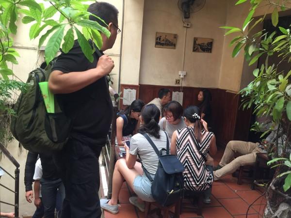 Café con huevo de Giang: una bebida peculiar de Hanói - ảnh 3
