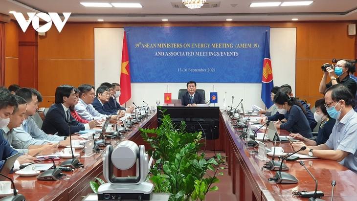 Efectúan la 39ª Reunión de Ministros de Energía de la ASEAN - ảnh 1