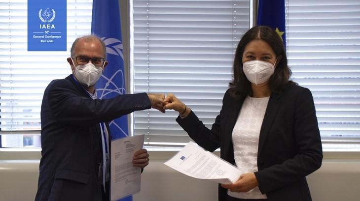 OIEA y UE amplían la cooperación en materia de seguridad nuclear - ảnh 1