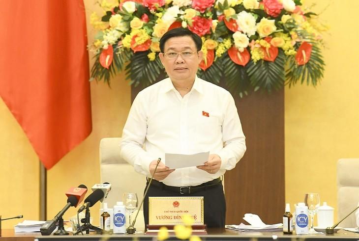 Concluye tercera reunión del Comité Permanente de la Asamblea Nacional de Vietnam - ảnh 1