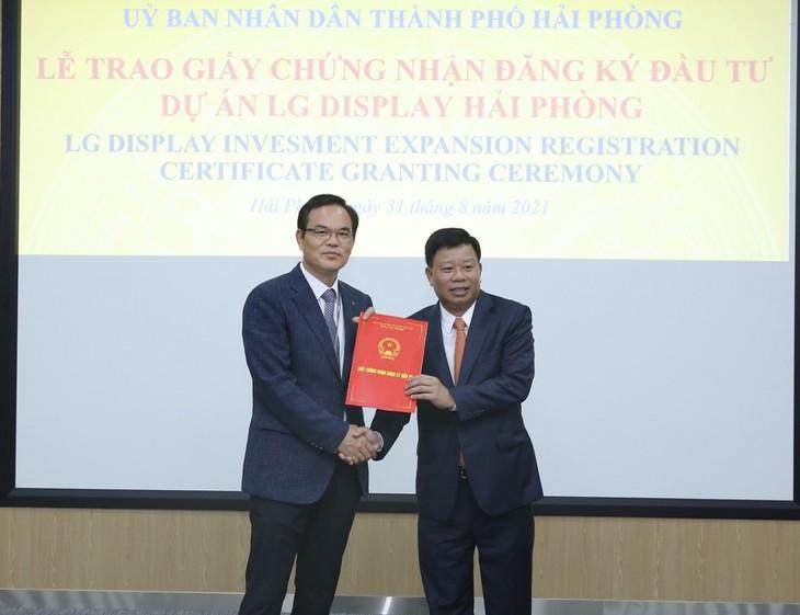 Hai Phong se esfuerza por mejorar el entorno de inversión - ảnh 1