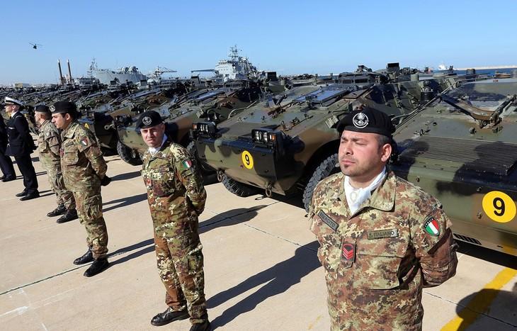 Las partes del conflicto en Libia acuerdan la retirada de tropas extranjeras del país - ảnh 1