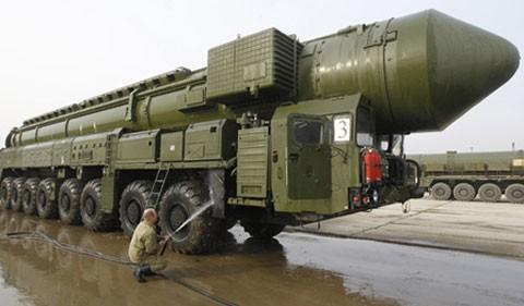 Presidente ruso da por concluidos ejercicios de fuerzas nucleares estratégicas - ảnh 1