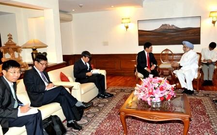 Vietnam e India insisten en llevar más allá sus relaciones de socio estratégico  - ảnh 1