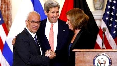 Palestina e Israel llegan a un acuerdo de negociación del estatus final - ảnh 1