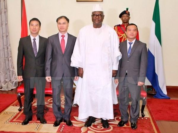 Vietnam, Sierra Leone foster multi-faceted cooperation  - ảnh 1