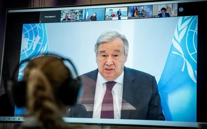 UN raises 8 billion USD to combat Covid-19 - ảnh 1