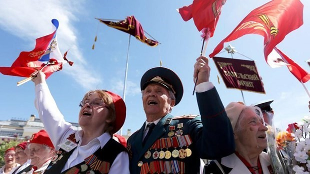 Europe marks 75th anniversary of Victory Day  - ảnh 1