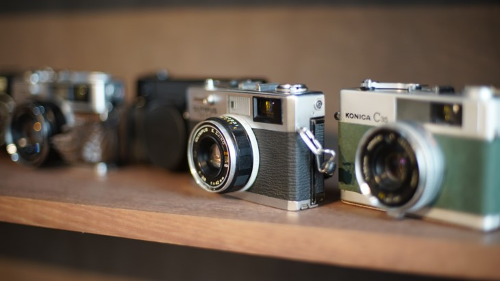필름카메라 – 회고풍  젊은이들의 취미 - ảnh 1