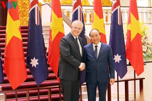 베트남 – 호주 공동선언 - ảnh 1