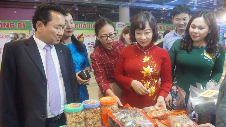 꽝닌 (Quảng Ninh) OCOP 및 베트남 전통마을 제품 전시회 개막 - ảnh 1